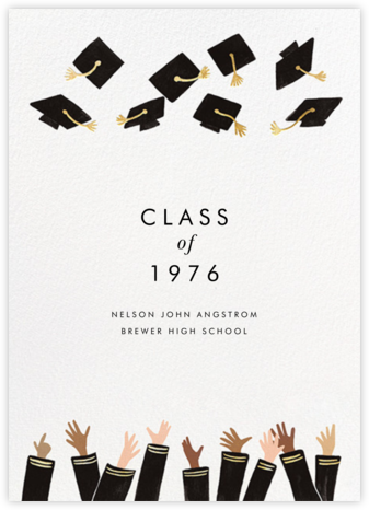 Caps Ahoy - Rifle Paper Co. - Graduation announcements