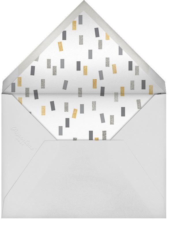 The Big Yay - Metallic - Cheree Berry - Bridal shower - envelope back
