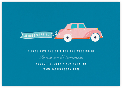 Travelogue - Car - Cheree Berry Paper & Design - Save the dates