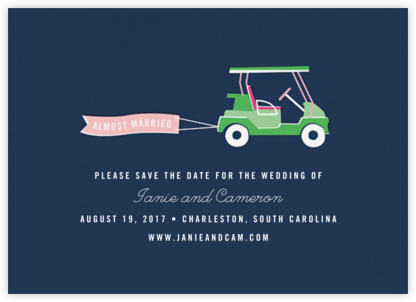 Travelogue - Cart - Cheree Berry Paper & Design - Save the dates