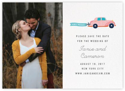 Travelogue (Photo) - Car - Cheree Berry - Wedding Save the Dates