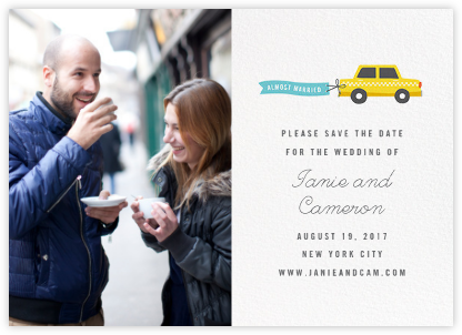 Travelogue (Photo) - Taxi - Cheree Berry - Photo save the dates