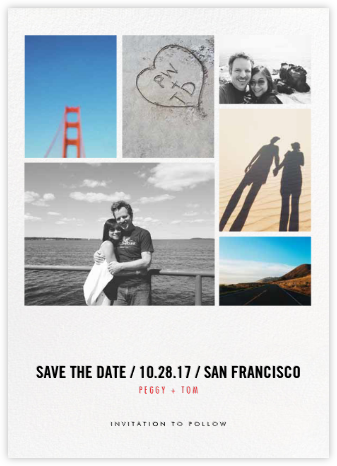 Love Mosaic - bluepoolroad - Save the date cards and templates
