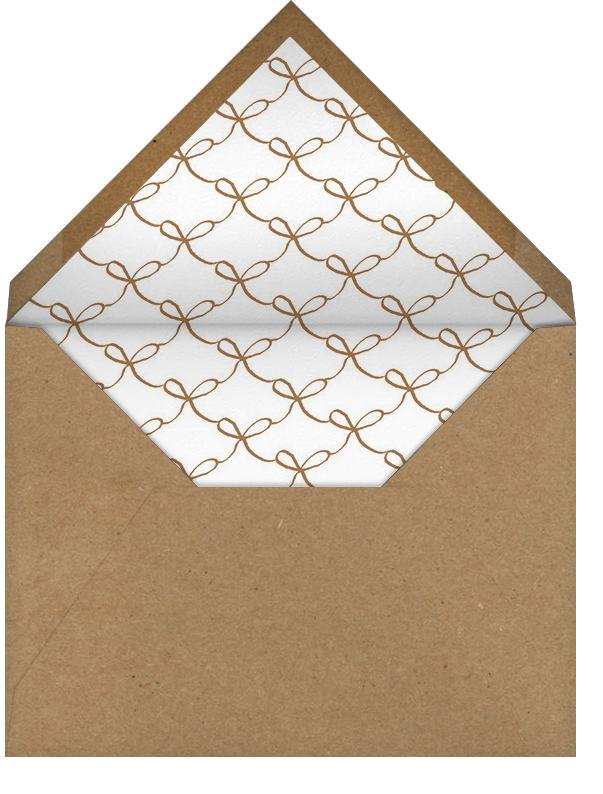 Let's Shower - Cheree Berry - Bridal shower - envelope back