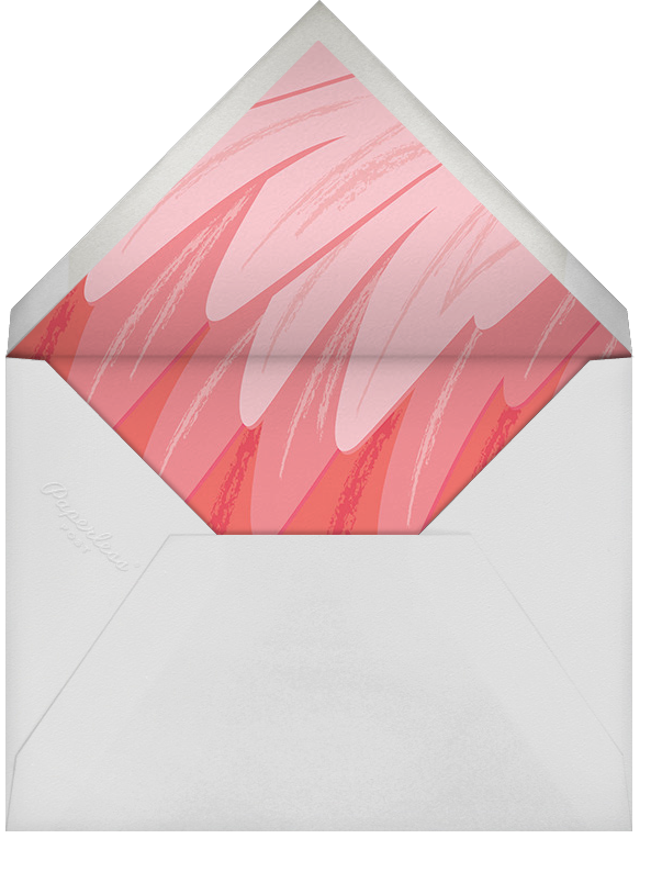 Ready to Flamingle - Cheree Berry - Designs we love - envelope back