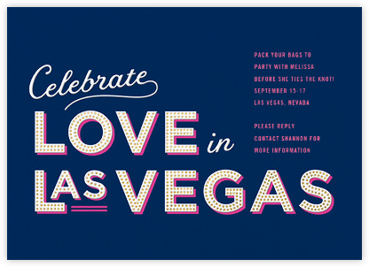 Vegas Baby - Cheree Berry - Cheree Berry invitations and cards
