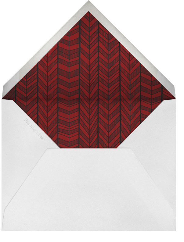 You Are What You Eat - Paperless Post - Thanksgiving - envelope back
