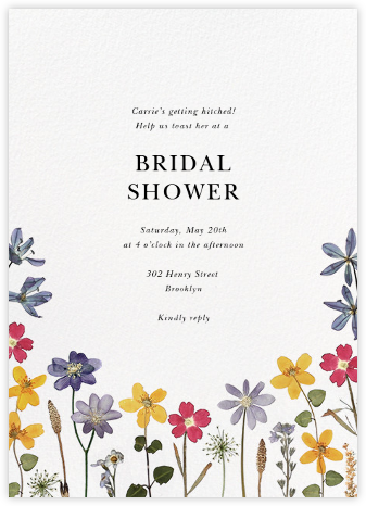 Villandry - Paperless Post - Bridal shower invitations