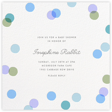 Carnaby - Light Blue - Paperless Post - Baby Shower Invitations