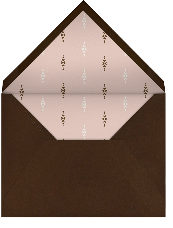Thanksgiving Photo - Antique Pink - Paperless Post - Envelope