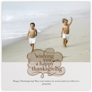 Wishing You - Square - Paperless Post - Thanksgiving Cards