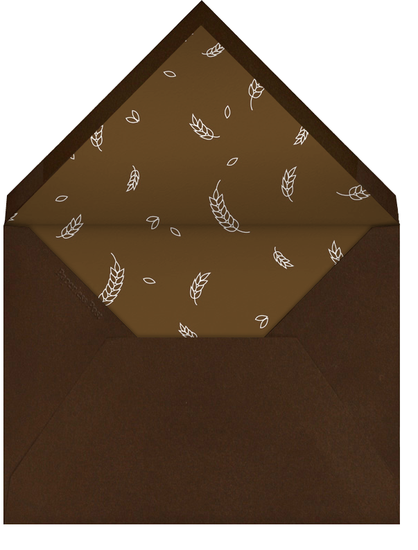 Wishing You - Tall - Paperless Post - Thanksgiving - envelope back