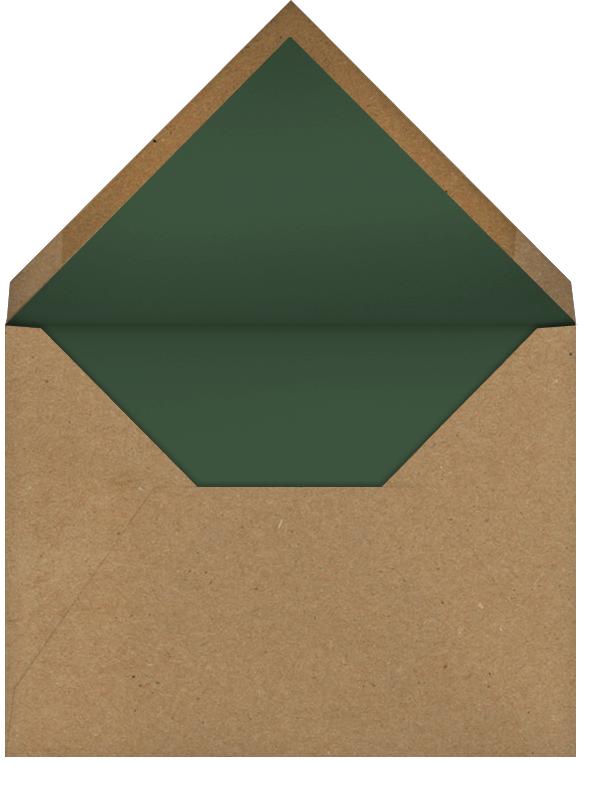 Belvoir - White - Paperless Post - Bridal shower - envelope back