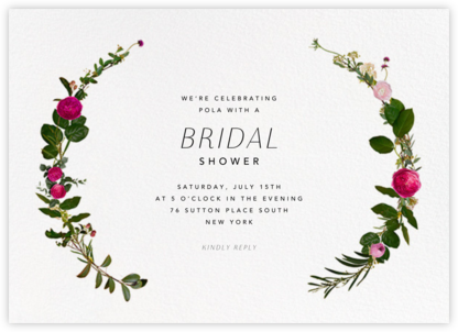 Belvoir - White - Paperless Post - Bridal shower invitations