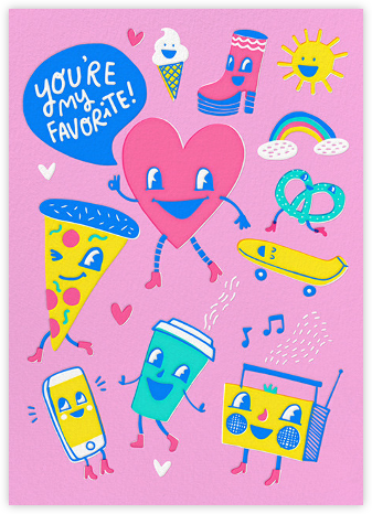 Playing Favorites - Hello!Lucky - Valentine's day cards