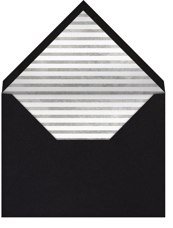 Underscore (Photo) - Silver - Paperless Post - Bridal shower - envelope back
