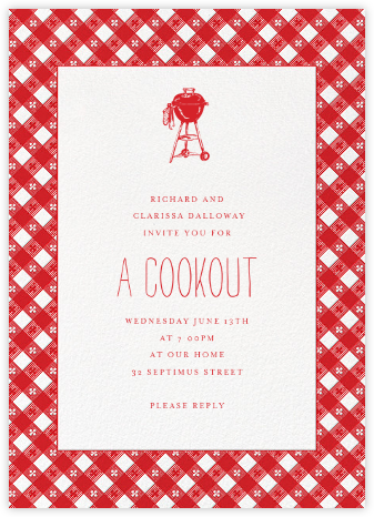 Picnic Table - Paperless Post - Summer entertaining invitations