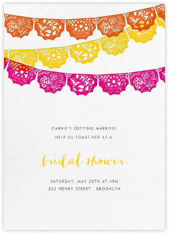 Tulum - Multi - Paperless Post - Bridal shower invitations