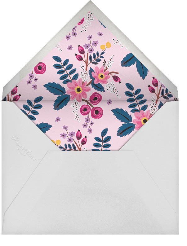 Strewn Blooms - Rifle Paper Co. - Bridal shower - envelope back