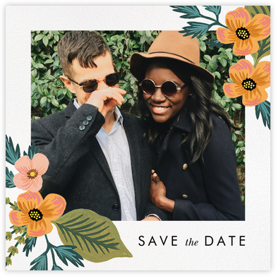 October Herbarium (Photo Save the Date) - Rifle Paper Co. - Rifle Paper Co. Wedding