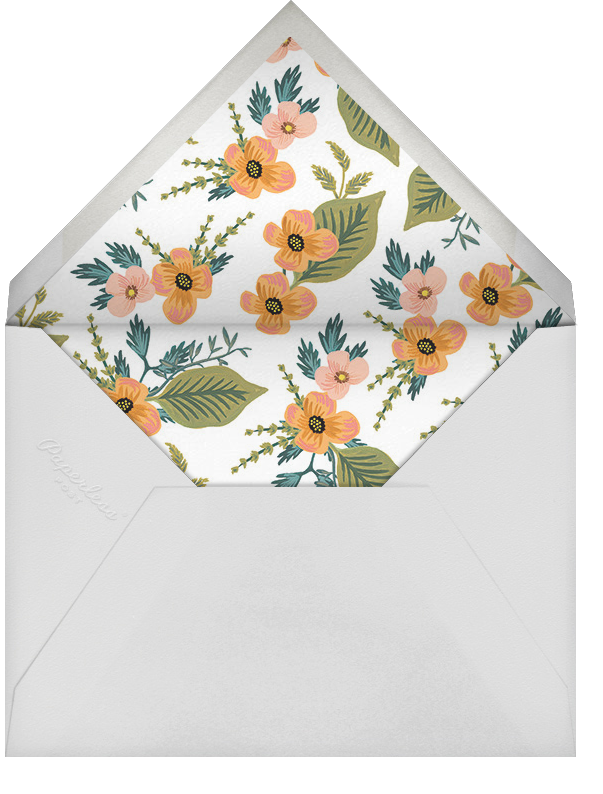 October Herbarium (Save the Date) - Rifle Paper Co. - Save the date - envelope back