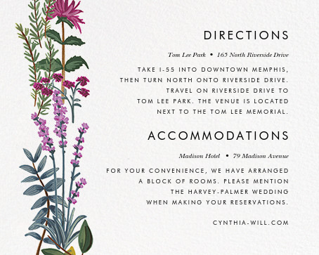 Herb Garden (Invitation) - Rifle Paper Co. - All - insert front