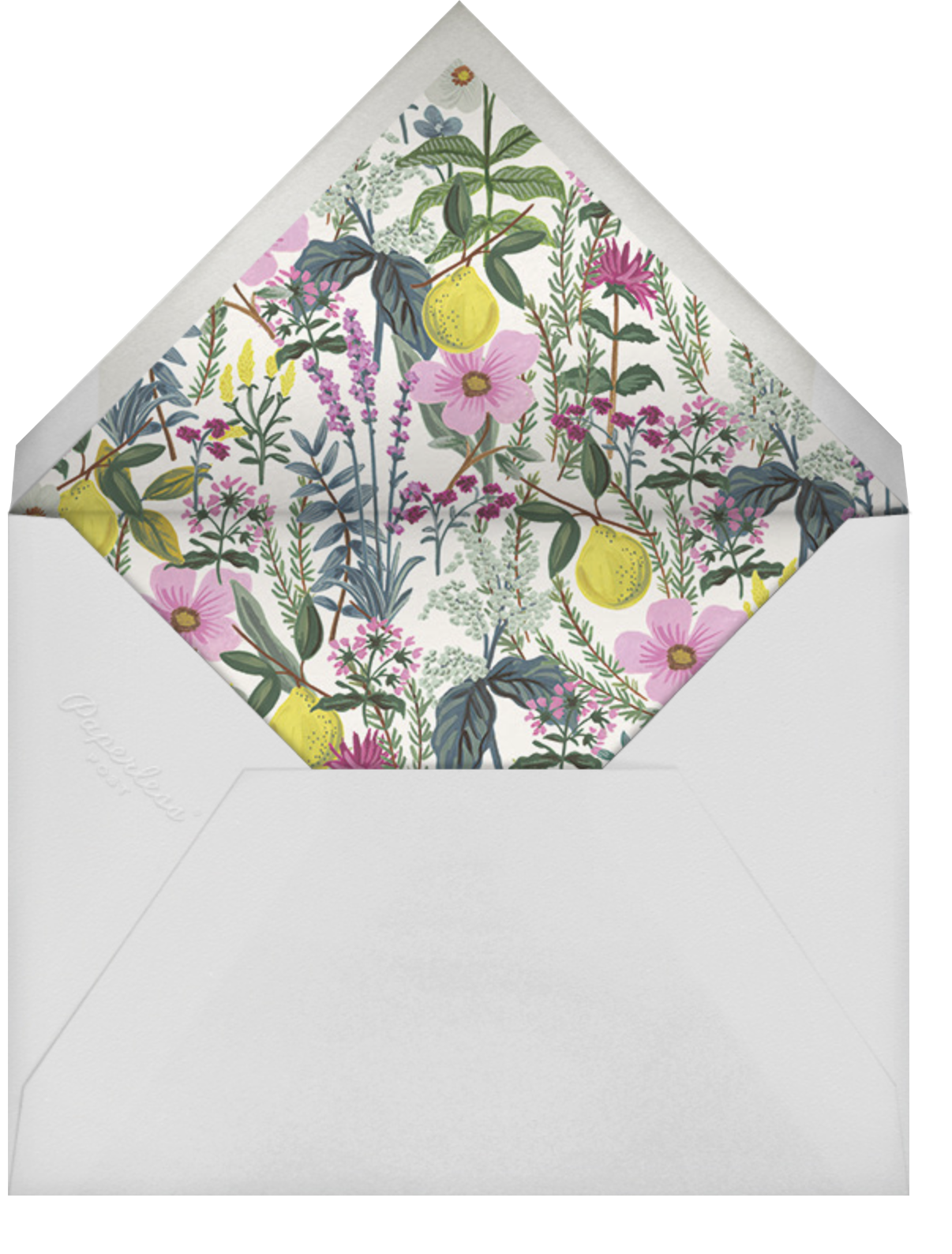 Herb Garden (Photo Save the Date) - Rifle Paper Co. - Envelope