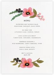 March Herbarium (Menu)