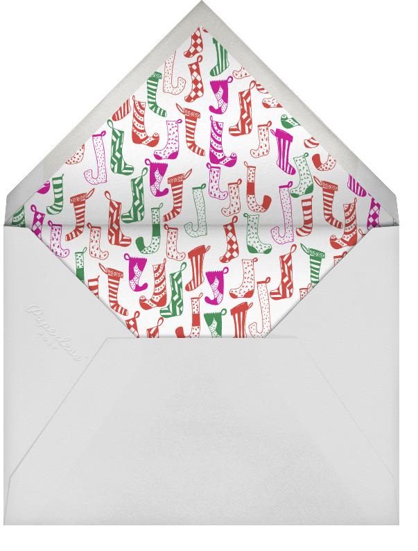 Clementine in My Stocking - Bermuda - Mr. Boddington's Studio - Christmas party - envelope back