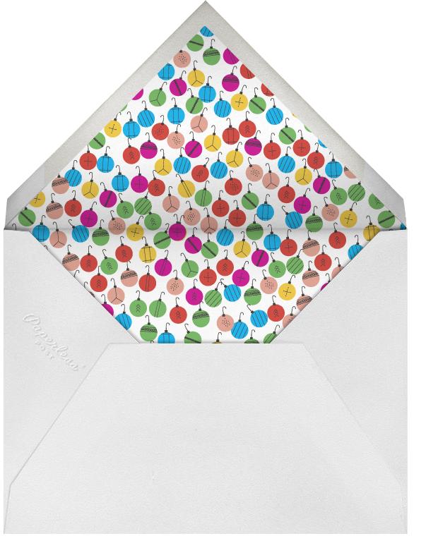 I Like the Green Ones - Mix - Mr. Boddington's Studio - Christmas party - envelope back