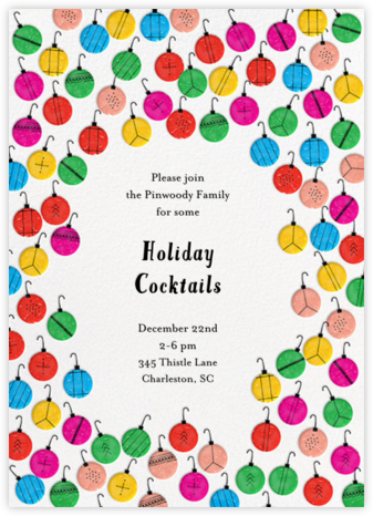 I Like the Green Ones - Mix - Mr. Boddington's Studio - Holiday invitations