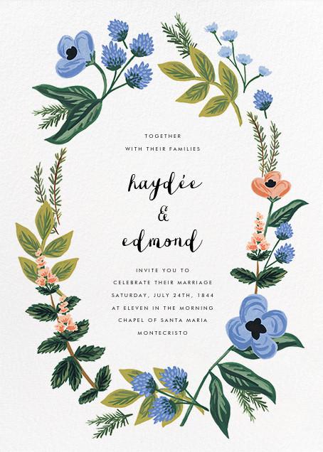 August Herbarium (Invitation) - Rifle Paper Co. - Rifle Paper Co. Wedding