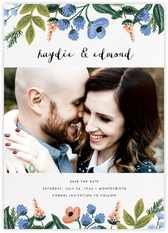 August Herbarium (Photo Save the Date) - Rifle Paper Co. - Rifle Paper Co. Wedding