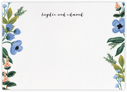 August Herbarium (Stationery) - Rifle Paper Co. - Personalized Stationery