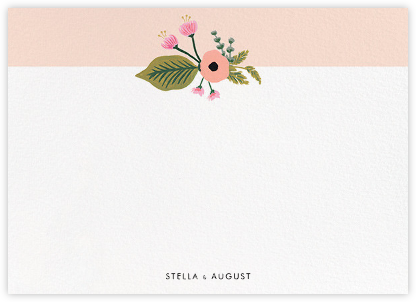 September Herbarium (Stationery) - Meringue - Rifle Paper Co. - Rifle Paper Co. Stationery
