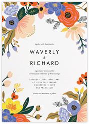Vivid Florals (Invitation)