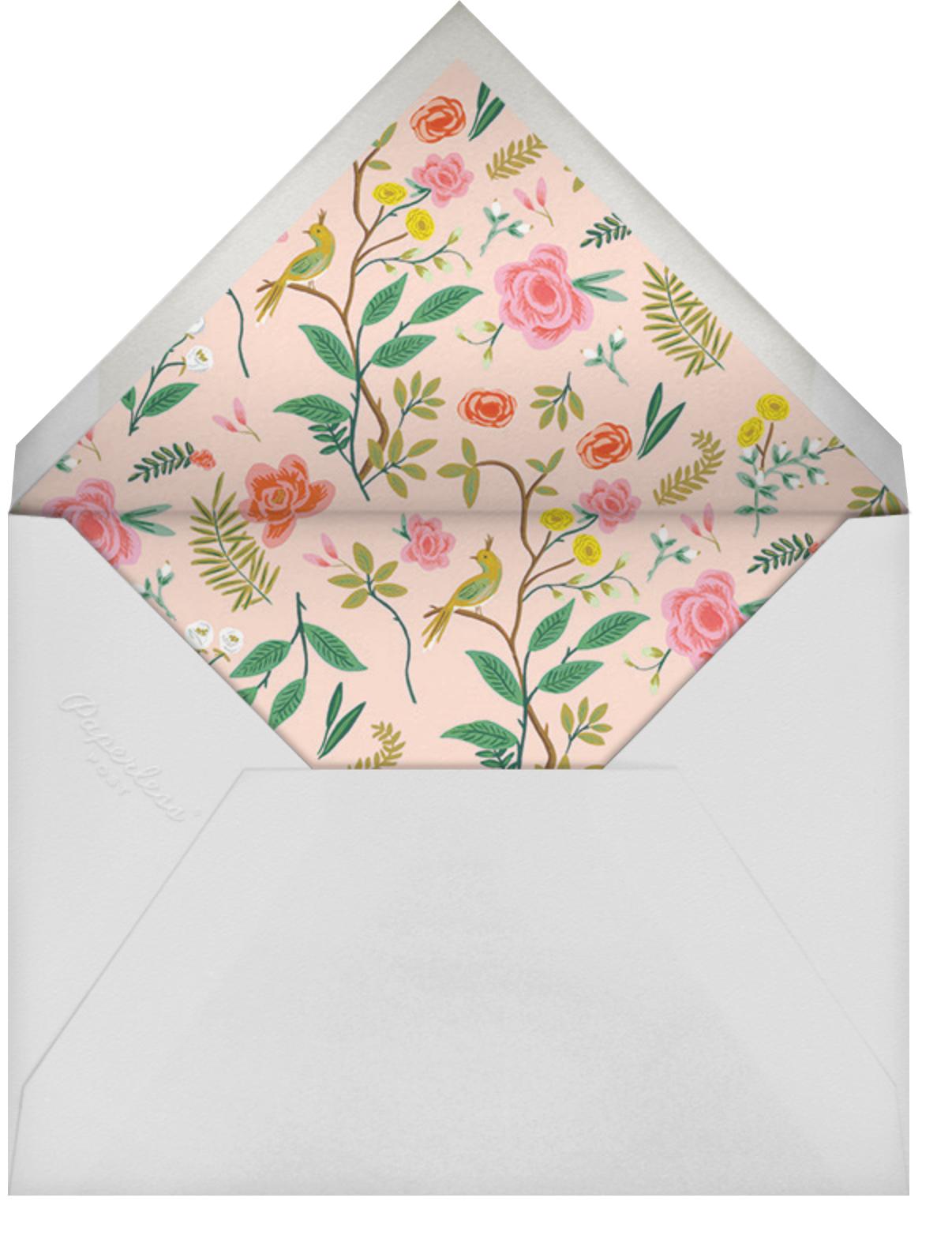 Shanghai Garden (Invitation) - Rifle Paper Co. - All - envelope back