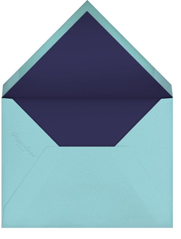 Tekhelet - Millet - Paperless Post - Hanukkah - envelope back