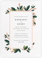 November Herbarium (Invitation)
