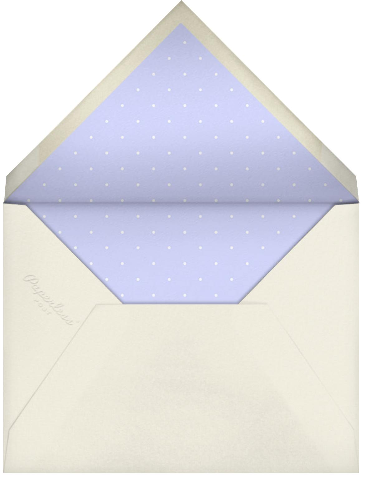 I Love New York - Wisteria - Mr. Boddington's Studio - Moving - envelope back