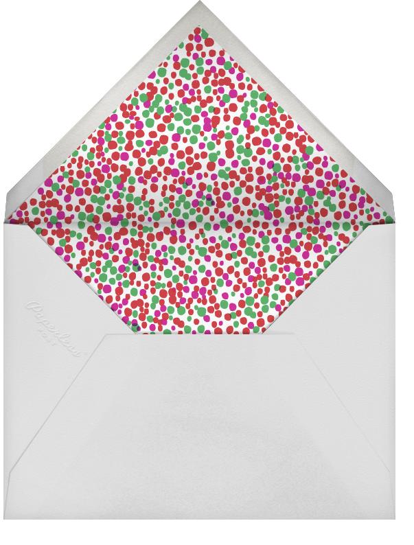 Fido's Knotted Stocking (Square) - Bermuda - Mr. Boddington's Studio - Holiday cards - envelope back