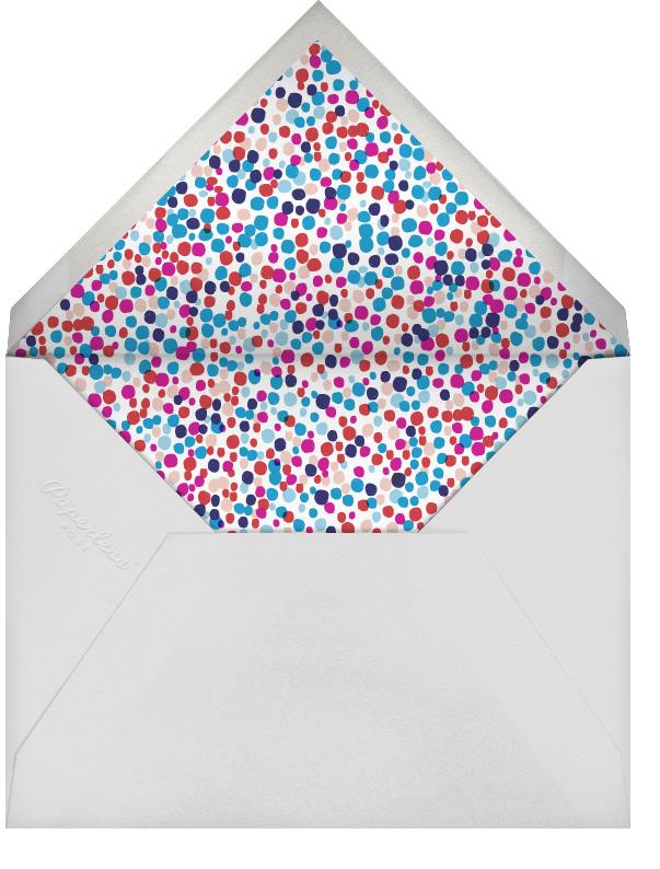 Fido's Knotted Stocking (Square) - Purple - Mr. Boddington's Studio - Holiday cards - envelope back