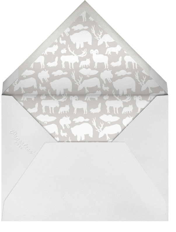 Come One Come All - Greige - Paperless Post - Winter parties - envelope back