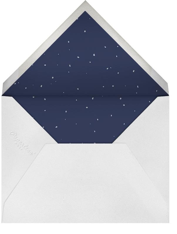 The Blizzard - Paperless Post - Winter entertaining - envelope back