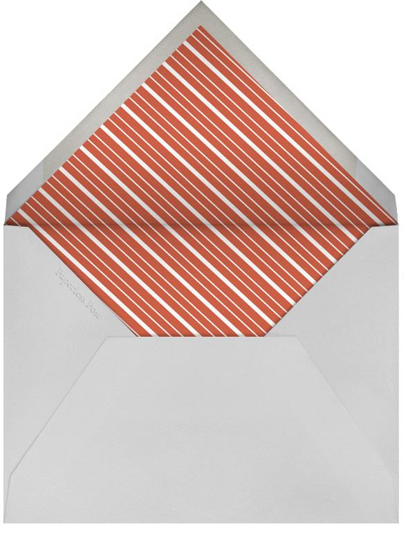 Hampstead Horizontal - Blood Orange/Winter Gray - Paperless Post - Holiday cards - envelope back