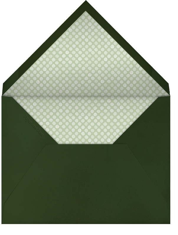 Beacon Hill Wreath - Paperless Post - Christmas party - envelope back