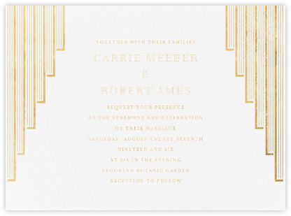 Tamara (Invitation) - Paperless Post - Modern wedding invitations