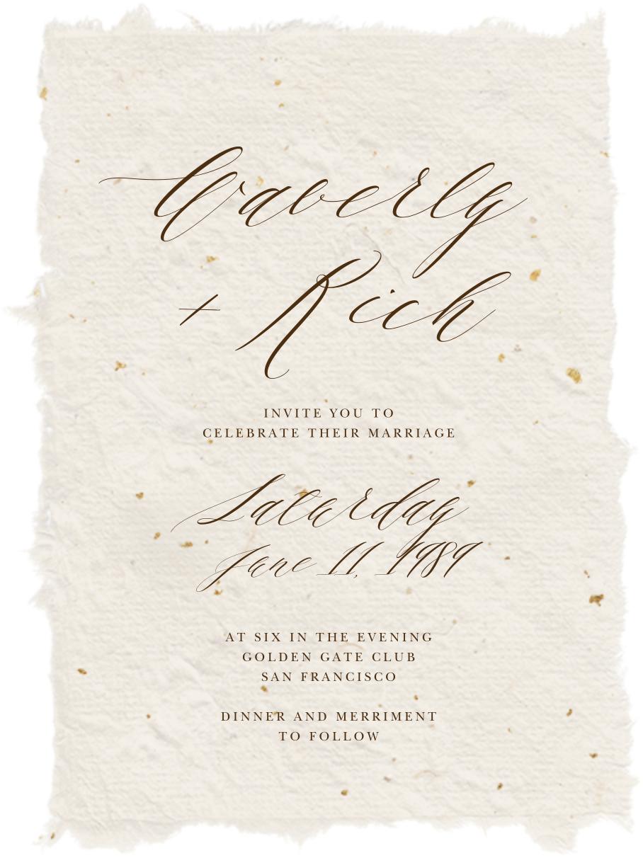 Cennini (Invitation) - Paperless Post - Wedding invitations