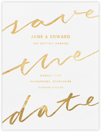 D'Etange - Paperless Post - Save the date cards and templates
