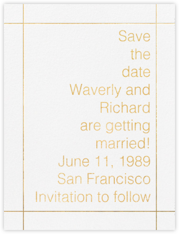 Reinhardt - Paperless Post - Save the dates